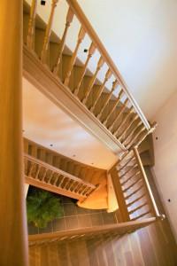 Klassieke trap: groots