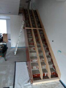 betonnen trap bekisting trappenmakerij wim  van loon